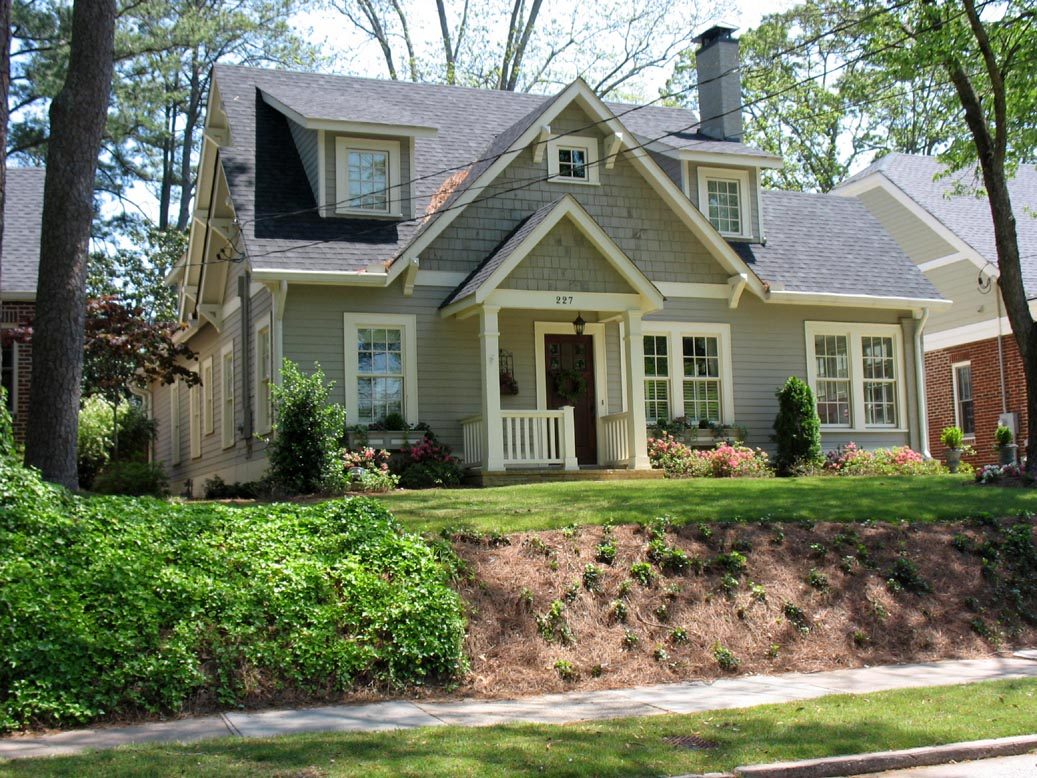Bungalows atlanta home styles atlanta decatur homes for Home and style
